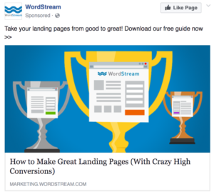 facebook ad example image