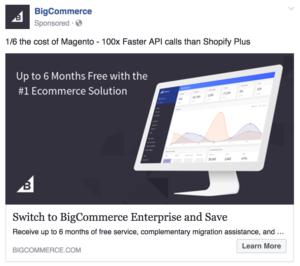 facebook ad example traffic generation