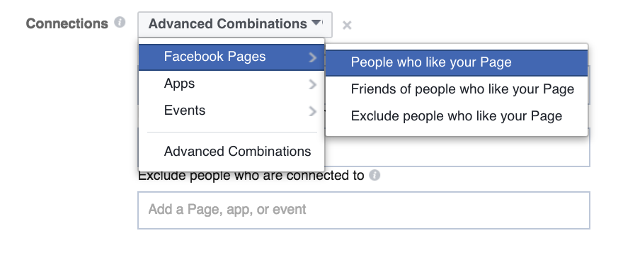facebook advertising connections 1
