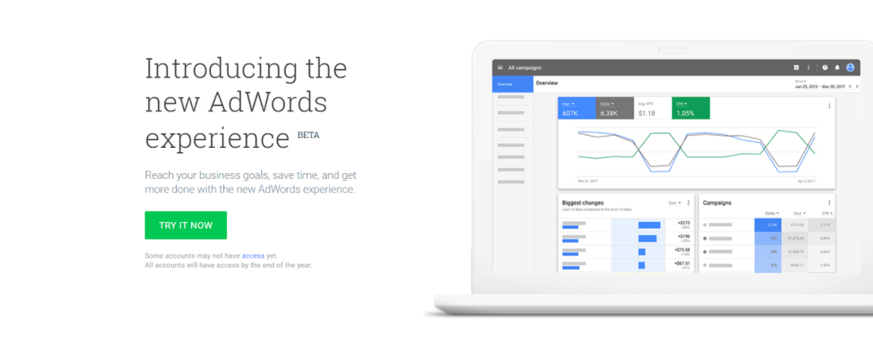 adwords beta